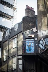 The boy in the doorway (Mister Rad) Tags: door house london graffiti shoreditch georgie nikond600 nikon50mmf14g