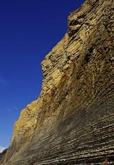 Fragile beauty (pauldunn52) Tags: heritage wales temple bay coast rocks patterns glamorgan limestone shale liassic latery