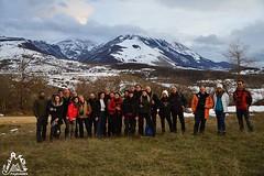 Gruppo amici di Majellando all'escursione di San Bartolomeo in Legio e Valle Giumentina - Majella - Abruzzo - Italy
