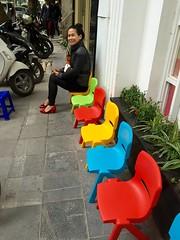 Kindergarten (∆nil Jethwa) Tags: old happy chairs first line vietnam quarter kindergarten colourful hanoi mrs iphone