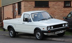 C849 LFL (Nivek.Old.Gold) Tags: volkswagen pickup 1986 stives caddy cambs 1595cc fvindissons