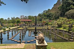 Tirta Gangga Wide View (DaveFlker) Tags: bali water palace tirta gangga
