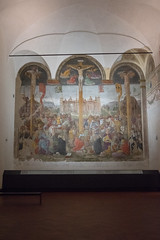(Artturi!) Tags: italy milan christianity fresco crucifixion lombardy santamariadellegrazie giovannidonatodamontorfano