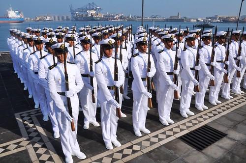 El gobernador Javier Duarte asistió a la Ceremonia Conmemorativa del Día de la Armada de México.