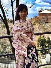 Japanese Kimono (marcelo.nakazaki) Tags: japan arquitetura kyoto kimono japo japon jinja cultura templo sia santurio otera aoarlivre