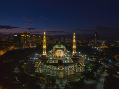 Beauty From Above (Mohamad Zaidi Photography) Tags: blue architecture composition photography muslim islam prayer istanbul mosque malaysia kualalumpur aerialphotography dng dji federalterritorymosque masjidwilayahpersekutuan mohamadzaidiphotography djiphantom phantom3pro above150m
