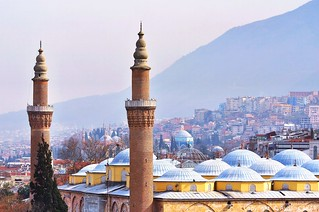 Bursa Cityscape (Ulu Camii)