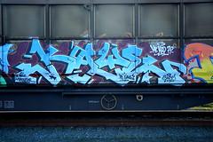 graffiti on freights (wojofoto) Tags: holland amsterdam graffiti nederland netherland freighttrain cargotrain freighttraingraffiti wolfgangjosten wojofoto vrachttrein