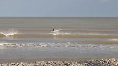 Surfer, Irish Sea, Bray, Ireland (Peter von Kappel) Tags: blue ireland sky beach water day outdoor surfer surfing bray irishsea