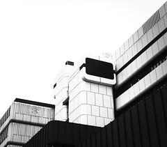 White Modular Walls (Reto Fachadas) (Job I) Tags: bw white black building tower monochrome lines metal architecture facade high key geometry towers modular future scifi minimalist ventilation
