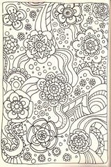 Tangle 222 (kraai65) Tags: flowers drawing doodle tangle zentangle zendoodle