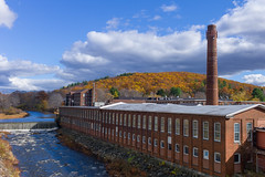 West Warren, Massachusetts (Mojave511) Tags: autumn building mill river ma unitedstates outdoor dam