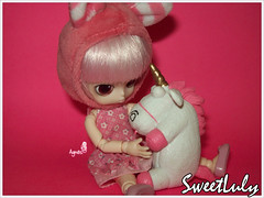 Agnes  Little Byul My Melody (SweetLuly) Tags: pink costume dolls rosa agnes unicorn mymelody obitsu unicrnio 11cm despicableme littlebyul littlebyulmymelody