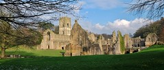 Fountains Abbey & Studley Royal, January 2016 (Clive Hicks) Tags: abbey yorkshire royal fujifilm fountains studley xe2