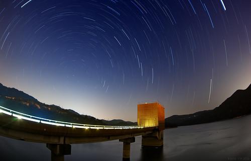 大欖涌水塘星夜