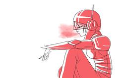Girls game (Tiki Edri) Tags: game girl robot iron futuristic