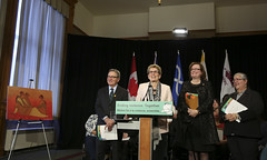IMG_0878  Premier Kathleen Wynne made an announcement of funding on the Ending Violence Against Indigenous Women Strategy. (Ontario Liberal Caucus) Tags: zimmer aboriginal indigenous meilleur violenceagainstwomen indigenouswomen jaczek maccharles svhap