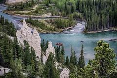 Bow River, Banff, AB, Canada (Najam Razvi) Tags: park river landscape island spires banff