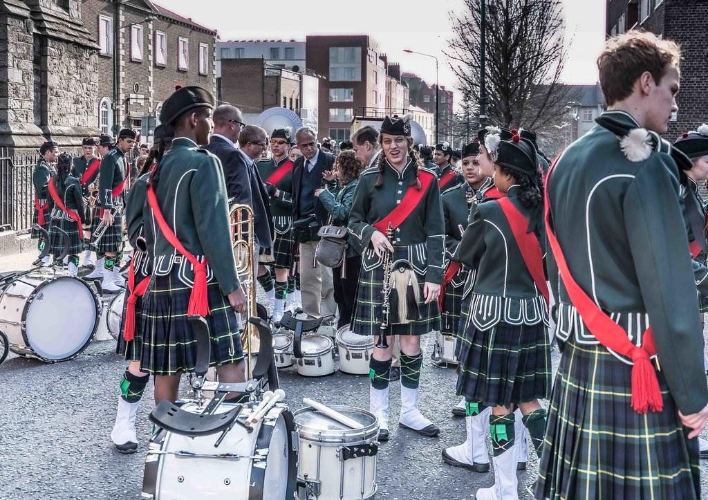 SHORECREST HIGH SCHOOL [ST. PATRICK'S PARADE IN DUBLIN 2016]-112220