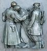 Slavin War Memorial, Bratislava. (radio53) Tags: monument architecture memorial war gun outdoor sub wwii machine soviet pistol slovakia smg russian 1945 liberation bratislava stalin czechoslovakia colum slovak stalinist ppsh tokarev