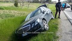 Incidente in via Hochberg a Bastia Umbra (27) (Gruppo Editoriale UmbriaJournal) Tags: bastia incidente