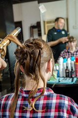 Hot Iron (Dave Gill: Just Smile or Act Natural :/ :O ;P :)) Tags: wedding house hair spring stylist nikon175528 nikonsb22 nikonsb900 randbryan davegillphotography vivtarthristor285