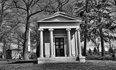 Woodlawn Cemetery Detroit, MI (Crunch53) Tags: bw cemeteries cemetery graveyard mi outdoors michigan detroit hdr woodlawn