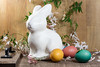 Easter Decorations for Home Decor for the Spring Holiday (Transient Eternal) Tags: pink people orange stuffedtoy white holiday color rabbit bunny green bunnies art love colors animals yellow kids easter children fun toys design spring furry craft tint plush celebration decorating eggs dye decorate homedecor oval hunt activities hardboiled jasmines jasminoides