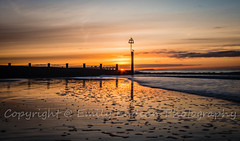 Boscombe Beach sunrise (Emily_Endean_Photography) Tags: uk longexposure morning sunset sea england seascape beach sunrise happy dawn coast seaside nikon waves seasons tide smooth dorset monday bournemouth seagul boscombe jurassiccoast