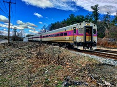 MBTA (Littlerailroader) Tags: railroad train massachusetts newengland trains transportation locomotive mbta trainspotting locomotives railroads newenglandrailroads ayermassachusetts