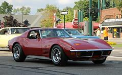 1972 Chevrolet Corvette Stingray (SPV Automotive) Tags: red classic chevrolet sports car stingray 1972 corvette coupe c3