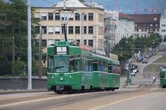 500 (KennyKanal) Tags: tram basel ag grn schindler waggon bvb pratteln basler verkehrsbetriebe schienenfahrzeug drmmli ysebhnli