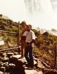 John and Jennifer on the American side of Niagra falls
