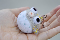 needle felting balloon fish keychain (noristudio3o) Tags: light fish animal felted studio miniature keychain felting gray balloon felt needle kawaii etsy figurine amigurumi pufferfish nori keyholder etsystore amigurumis etsyseller etsyhunter noristudio