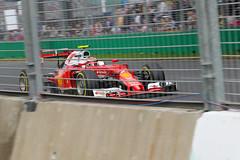 F1mel_17 (szk333) Tags: melbourne formula1 albertpark kimiraikkonen scuderiaferrari f12016 formula1australiangp2016