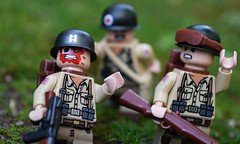 CAPTAIN!!! (~J2J~) Tags: soldier lego american ww2 brickarms citizenbrick