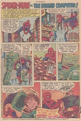 Spider-Man / The Human Computer (micky the pixel) Tags: cake comics comic spiderman advertisement marvel reklame anzeige heft hostesscupcakes