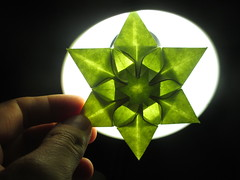 Natalia Guzowska's Talina Star Backlight (georigami) Tags: paper origami papel papiroflexia