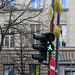 walk green street light berlin