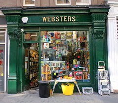Websters, Chiltern Street (shadow_in_the_water) Tags: london shop hardwarestore w1 marylebone websters ironmonger hardwareshop established1870 53chilternstreet