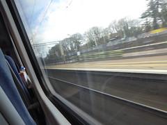 350122 window view. Berkhamsted (28/3/16) (*ECMLexpress*) Tags: london class 350 berkhamsted emu midland wcml desiro 350122