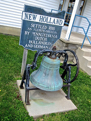 Bell, New Holland, OH (Robby Virus) Tags: ohio monument dutch memorial bell settlers germans hollanders newholland
