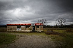 Missy's Mart (Notley) Tags: sky abandoned field clouds facade rural march spring midwest outdoor missouri storefront conveniencestore cloudysky cstore 2016 ruralphotography missourilandscape tebbettsmissouri notleyhawkins callawaycountymissouri httpwwwnotleyhawkinscom notleyhawkinsphotography missysmart