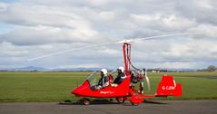G-CJDW Magni M16 , Scone (wwshack) Tags: scotland scone gyro autogyro gyrocopter gyroplane scottishaeroclub magnim16 sconeairport gcjdw