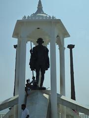 Gandhi Memorial (Aidan McRae Thomson) Tags: sculpture india monument statue memorial tamilnadu pondicherry puducherry