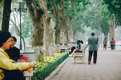(. Daniel Pham .) Tags: street city winter people film weather asia cityscape kodak streetlife vietnam explore human lonelyplanet hanoi natgeo portra160 streetography vsco danielpham vscofilm