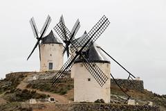 Na de regenbui (Bram Meijer) Tags: spain windmills spanje lamancha donquijote molens consuegra windmolens
