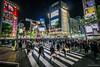 東京模樣。渋谷。十字路口 (義吉郎) Tags: night tokyo nightshot 日本 beautifulnight japan日本 lumixgvario714f4 panasonicdmcg6 渋谷nighttokyo東京