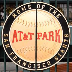 AT&T Park (dalecruse) Tags: sanfrancisco california city downtown cityscape baseball embarcadero giants mlb lightroom majorleaguebaseball attpark d7000