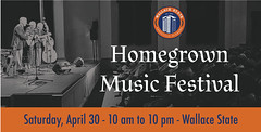 Homegrown Music Festival (cullmantoday) Tags: county music college festival community state alabama wallace homegrown cullman hanceville